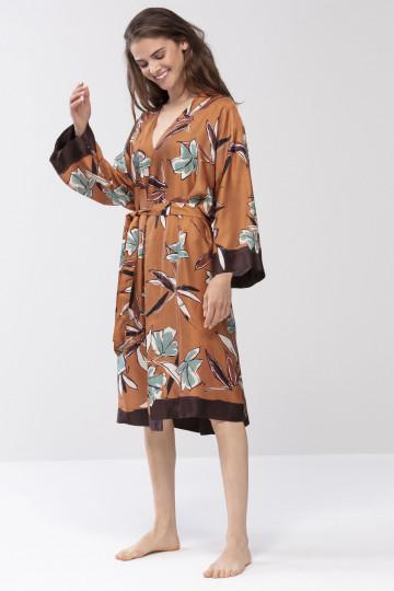 Frontansicht Kimono Mantel Mey Lounge 16479 | Mey Bodywear