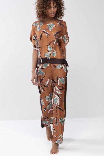 Frontansicht Hose lang Mey Lounge 16481   Mey Bodywear
