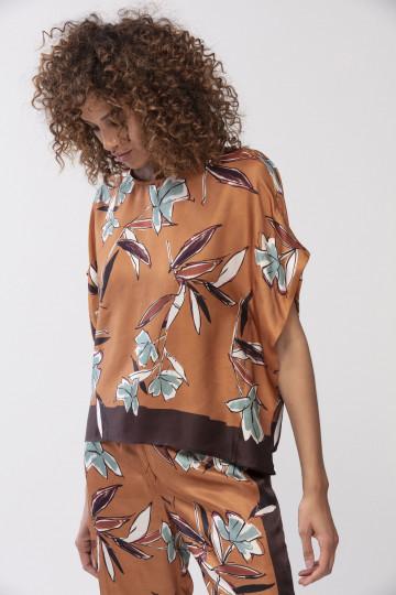 Frontansicht Shirt Mey Lounge 16482 | Mey Bodywear