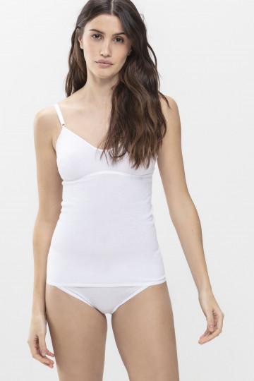 Frontansicht BH-Hemd   ohne Bügel Serie Noblesse 25119   Mey Bodywear