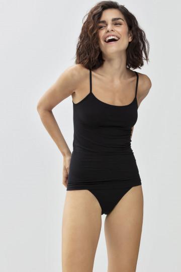 Frontansicht Spaghetti-Top Serie Organic 25815 | Mey Bodywear