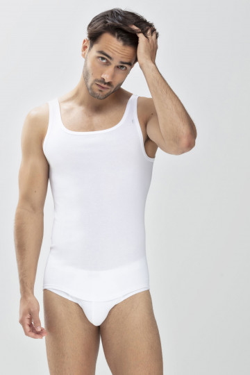 Frontansicht Athletic-Shirt Serie Noblesse 2800 | Mey Bodywear