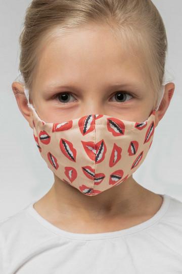Frontansicht Mund- und Nasenmaske| KIDS Serie Masken 39173 | Mey Bodywear