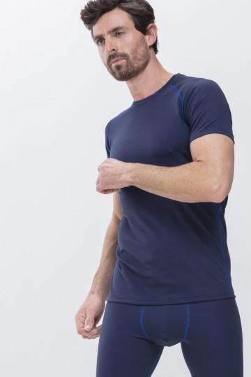 Frontansicht Crew neck-Shirt High Performance 43002 | Mey Bodywear