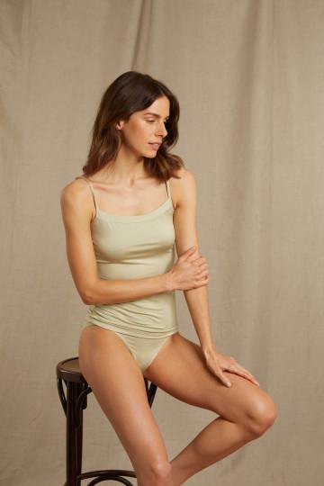 Frontansicht Spaghetti Top Serie Mood 45865 | Mey Bodywear