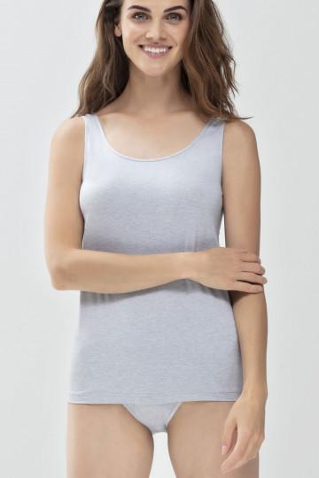 Frontansicht Top mit breiten Trägern Serie Mood 45867 | Mey Bodywear