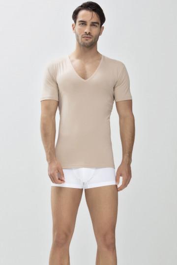 Frontansicht Das Drunterhemd - V-Neck Serie Dry Cotton 46038 | Mey Bodywear
