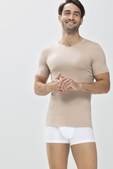 Frontansicht Das Drunterhemd - Crew-Neck | Slim fit Serie Dry Cotton 46092 | Mey Bodywear