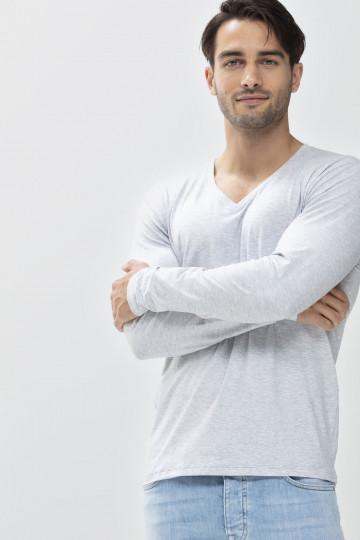 Frontansicht Langarm-Shirt Mey Club Coll. 46520   Mey Bodywear