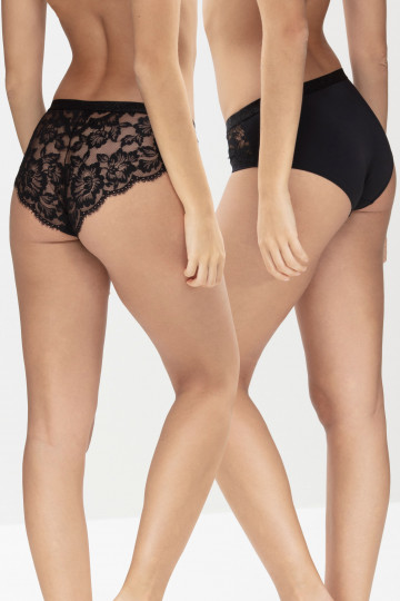Frontansicht Hipster 2-pack TwO Love 79019 | Mey Bodywear