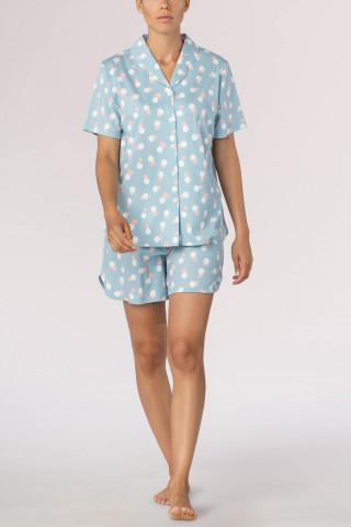 Frontansicht Schlafanzug kurz Loni 13190   Mey Bodywear