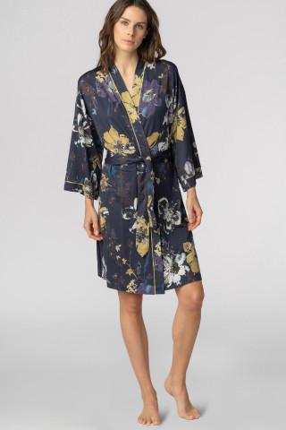 Frontansicht Kimono Mantel Mey Lounge 16193 | Mey Bodywear