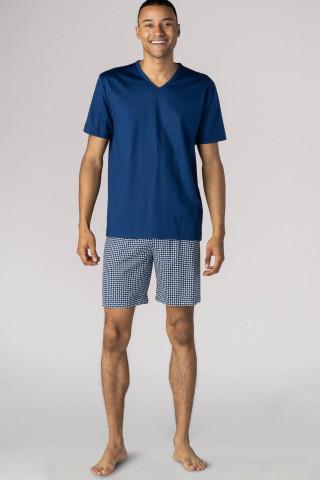 Frontansicht Schlafanzug kurz La Paz 24571 | Mey Bodywear