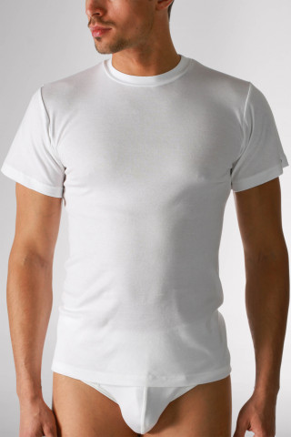 Frontansicht Olympia-Shirt Serie Noblesse 2803 | Mey Bodywear