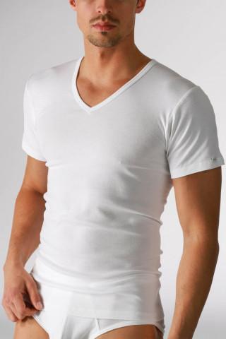 Frontansicht V-Neck-Shirt Serie Noblesse 2807 | Mey Bodywear