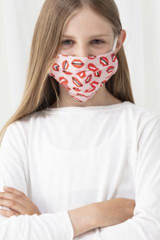 Frontansicht Mund- und Nasenmaske | KIDS Serie Masken 39160 | Mey Bodywear