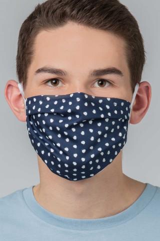 Frontansicht Mund- und Nasenmaske Serie Masken 39181 | Mey Bodywear