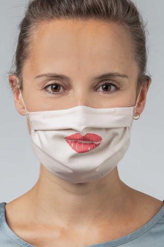Frontansicht Mund- und Nasenmaske Serie Masken 39183 | Mey Bodywear