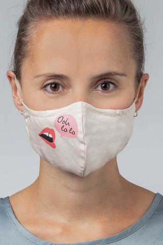 Frontansicht Mund- und Nasenmaske Serie Masken 39186 | Mey Bodywear
