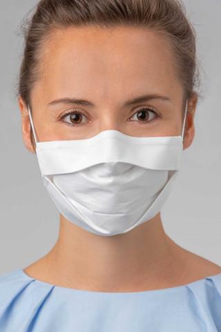 Frontansicht Mund- und Nasenmaske | 5er Pack Serie Masken 39195 | Mey Bodywear