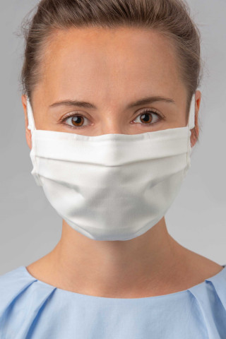 Frontansicht Mund- und Nasenmaske | 5er Pack Serie Masken 39198 | Mey Bodywear