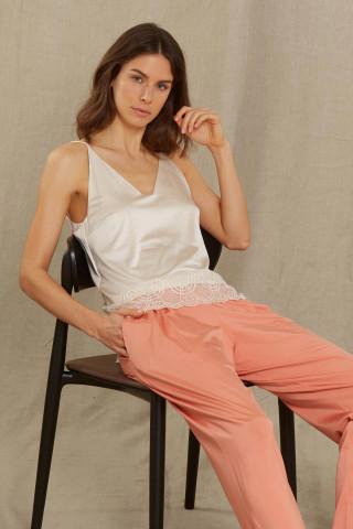 Frontansicht Camisol Serie Colette 45349 | Mey Bodywear