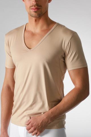 Frontansicht Das Drunterhemd V-Shirt Serie Dry Cotton 46038 | Mey Bodywear