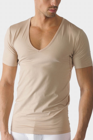 Frontansicht Das Drunterhemd - V-Neck | Slim fit Serie Dry Cotton 46098 | Mey Bodywear