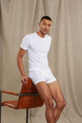 Frontansicht Shirt 1/2 Arm Serie Dry Cotton 46102 | Mey Bodywear
