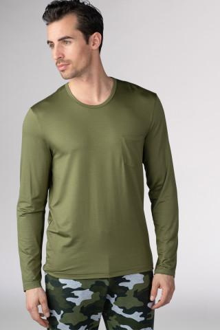 Frontansicht Shirt langarm Serie Jefferson Modal 65640 | Mey Bodywear