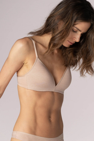 Frontansicht Bi-Stretch-BH | Ohne Bügel Serie Easy Cotton 74362 | Mey Bodywear
