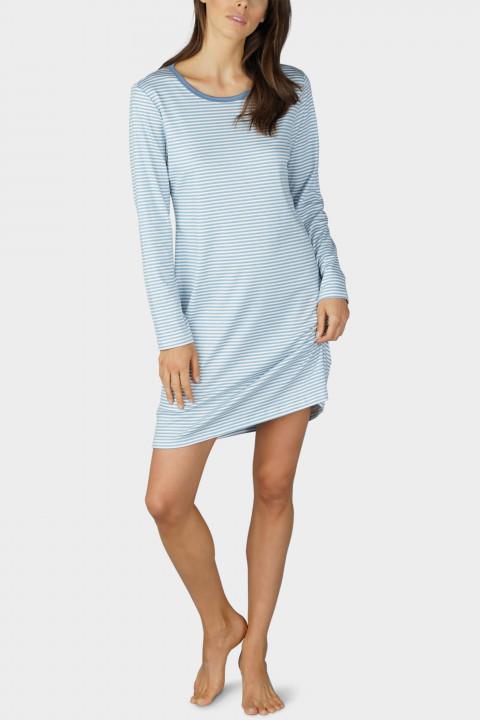 Mey Damen Nachthemd Langarm Art Blush gepunktet Neu 11122 Fb