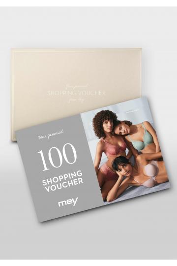 Frontansicht Geschenk-Gutschein 100 Euro 1100-1   Mey Bodywear