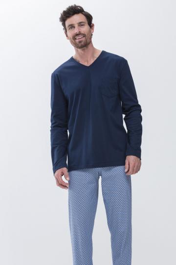 Frontansicht Schlafanzug San Pedro 11381 | Mey Bodywear