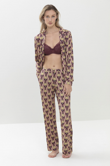 Frontansicht Pyjama-Shirt Serie Ilaria 16061 | Mey Bodywear