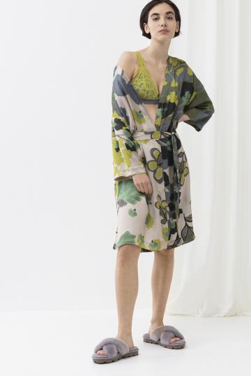 Frontansicht ** Naima Kimono 3/4 Ärmel Mey Lounge 16207   Mey Bodywear