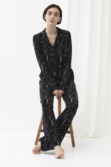 Frontansicht Pyjama-Shirt Serie Mayline 16225 | mey®