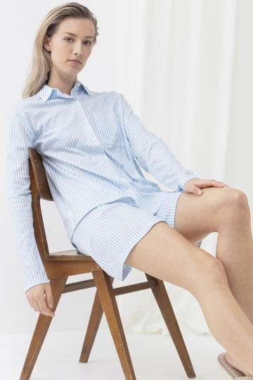 Frontansicht Pyjama Shirt 1/1 Ärmel  G Serie Sleepsation 17206 | Mey Bodywear