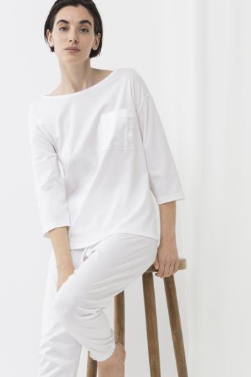 Frontansicht Shirt 3/4 Ärmel  GOTS / w Serie Sleepsation 17209 | Mey Bodywear