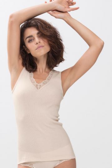 Frontansicht Top Serie Organic 25014 | Mey Bodywear
