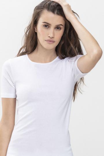 Frontansicht Shirt Serie Noblesse 26807   Mey Bodywear