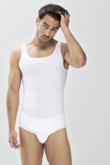 Frontansicht Athletic-Shirt Serie Noblesse 2800   Mey Bodywear