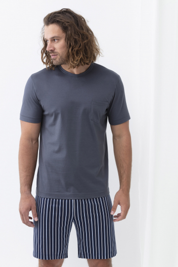 Frontansicht Schlafanzug kurz Serie Portimo 33018 | mey®