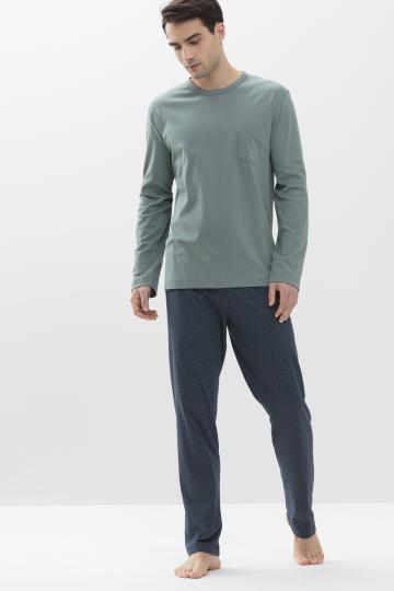 Frontansicht Schlafanzug Serie Neiden 34013 | mey®
