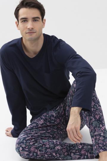 Frontansicht Schlafanzug Serie Nurmes 34014 | mey®