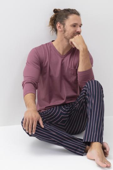 Frontansicht Schlafanzug Serie Onkamo 34015 | mey®
