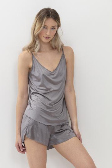 Frontansicht Camisol / mineral grey Serie Coco 45006 | Mey Bodywear