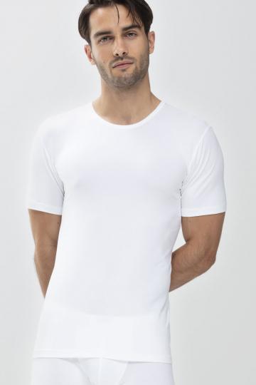 Frontansicht Das Drunterhemd - Crew-Neck Serie Dry Cotton 46082   Mey Bodywear