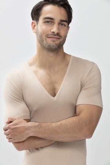 Frontansicht Das Drunterhemd - V-Neck | Slim fit Serie Dry Cotton 46098 | Mey Bodywear
