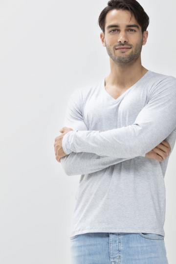 Frontansicht Langarm-Shirt Mey Club Coll. 46520 | Mey Bodywear